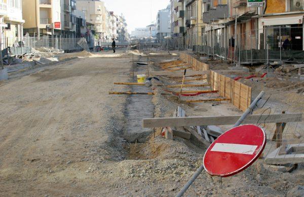 Avenida Mousinho – um ano depois do início das obras