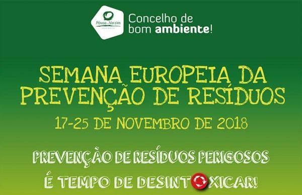 Município associa-se à Semana Europeia da Prevenção de Resíduos