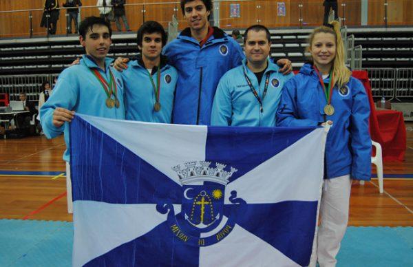 Bonfim traz quatro medalhas do Campeonato Nacional