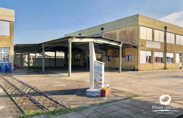 Novo ano será de mudança para a Escola de Aver-o-Mar. Município alerta para condicionamentos inerentes às obras