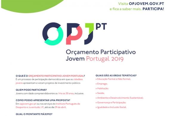 Casa da Juventude acolhe Encontro de Participação do Orçamento Participativo Jovem Portugal 2019