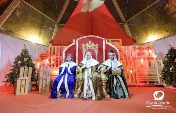 Os Três Reis Magos são os novos donos do Palácio de Natal