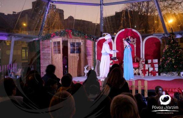 Palácio do Pai Natal repleto de magia e sorrisos na despedida