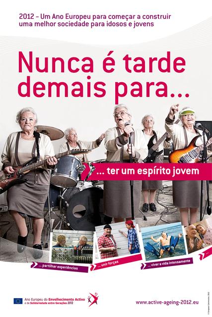 Cartaz Envelhecimento