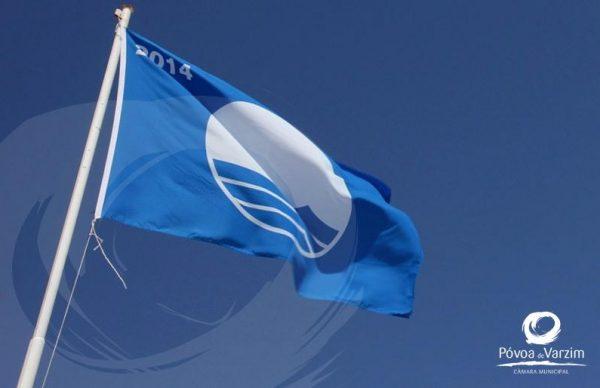 Póvoa de Varzim com todas as praias Bandeira Azul