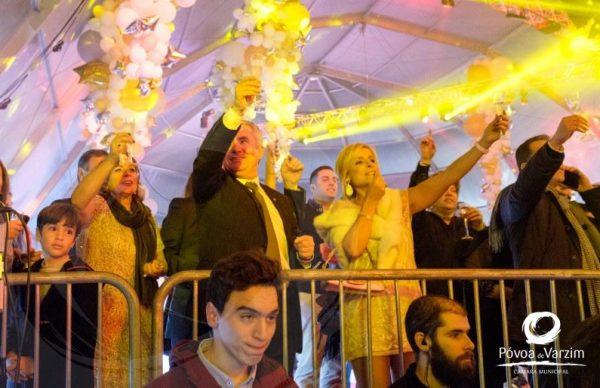 Póvoa de Varzim recebeu 2018 em festa