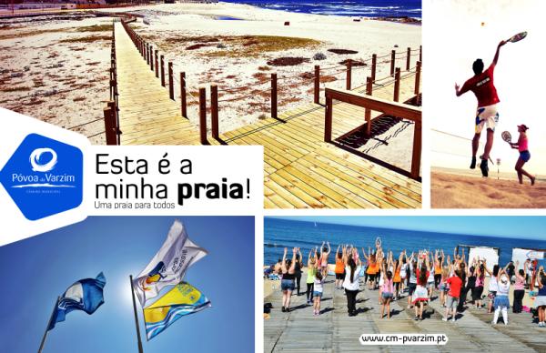 """""""Póvoa de Varzim, uma praia para todos""""- época balnear arranca amanhã"""