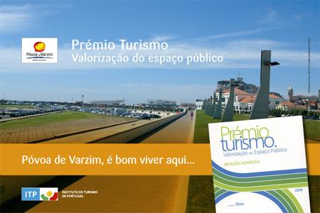 Póvoa conquista menção honrosa do Prémio Turismo