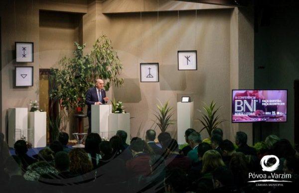 Presidente anuncia apresentação pública da requalificação da Matriz em conferência do BNI
