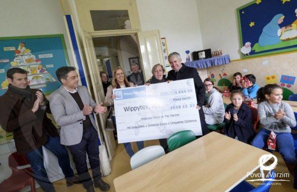 Presidente entrega €1660,50 a Maria da Paz Varzim e Centro de Bem-Estar de Rates