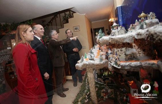 Presidente visita presépios do concelho