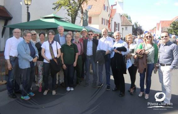 Presidente visitou Eschborn