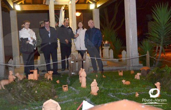 Presidente visitou Presépios em Balasar