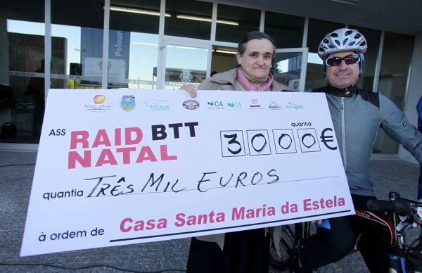 Raid BTT angariou mais de três mil euros