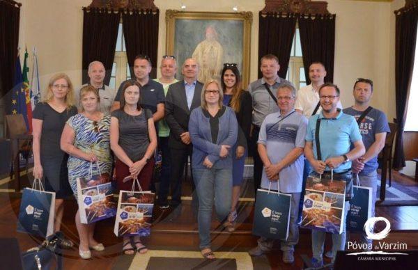 Professores polacos recebidos na Câmara Municipal