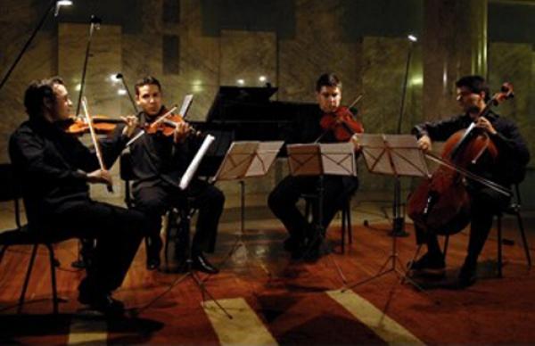 Miguel Borges Coelho, António Saiote, Aníbal Castanho Lima, Paulo Gaio Lima, e Quarteto de Cordas – músicos portugueses, dia 20, no Festival de Música