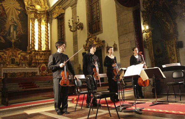Quarteto de Cordas atua no FIMPV