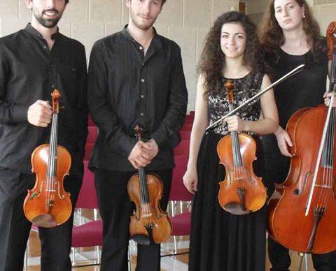 Quarteto residente e música antiga no FIMPV