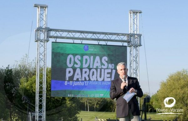 Tony Carreira, Anselmo Ralph, The Gift e Quim Barreiros no Parque da Cidade