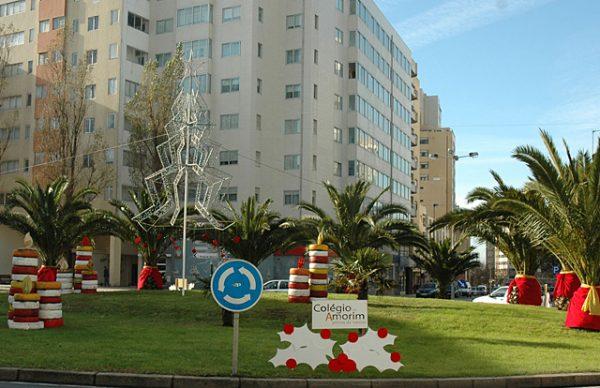 Ecorotundas de Natal – a Póvoa enfeitada por instituições e escolas locais