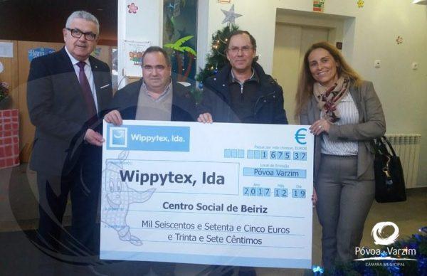 Roupões angariam €3350 para instituições poveiras
