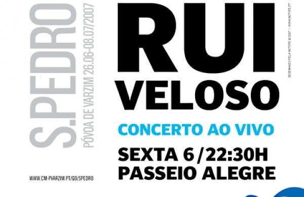 Rui Veloso em concerto ao vivo, gratuito