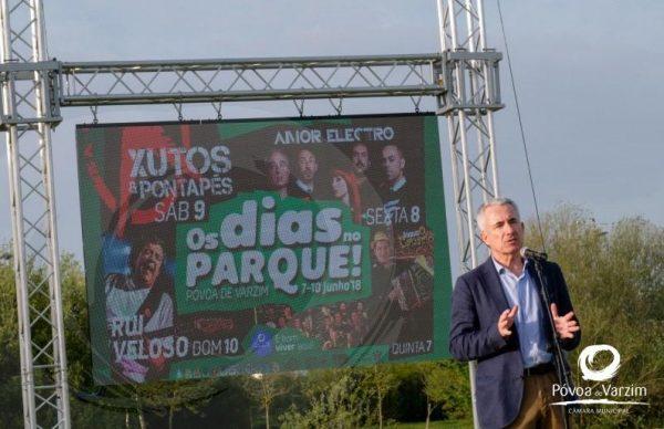 Rui Veloso, Xutos & Pontapés, Augusto Canário e Amor Electro no Parque da Cidade