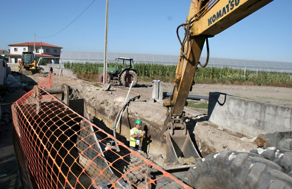 Obras de saneamento avançam no concelho