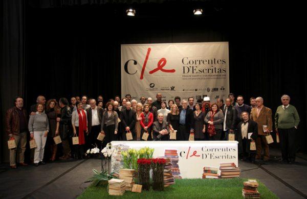 Correntes d'Escritas: homenagem e prémios no encerramento da Festa da Literatura