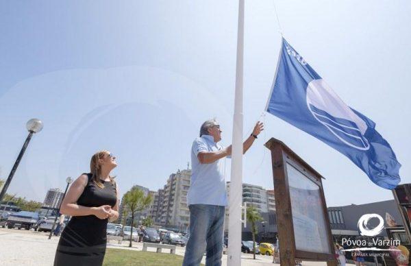 Todas as praias da Póvoa com Bandeira Azul