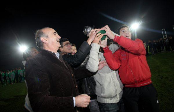 Época de Natal também vivida com a festa do futebol