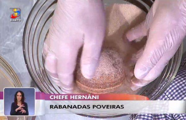 Rabanada à Poveira em destaque na TVI