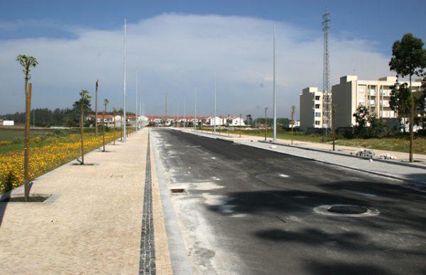 Avenida 25 de Abril inaugurada em finais de Junho