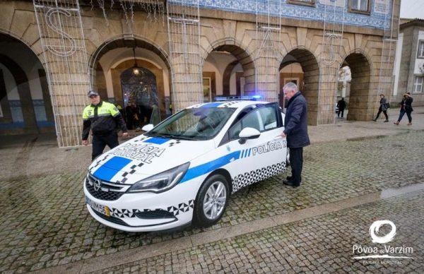 """Viatura da Polícia Municipal com nova """"cara"""""""