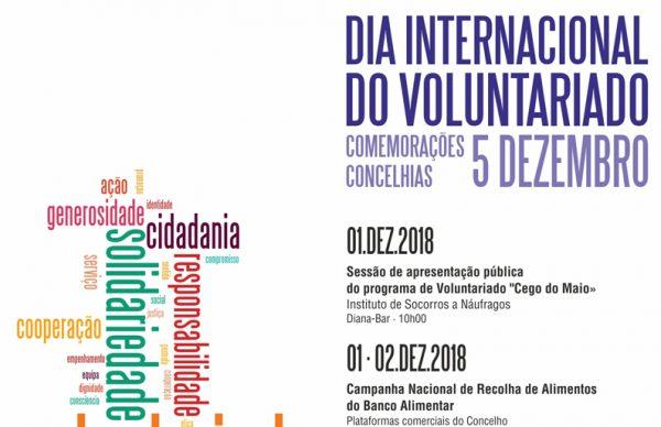 Voluntariado será celebrado toda a semana