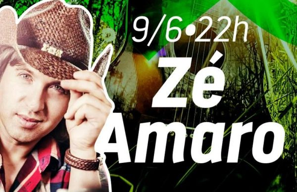 Zé Amaro é o primeiro artista d'Os Dias no Parque!
