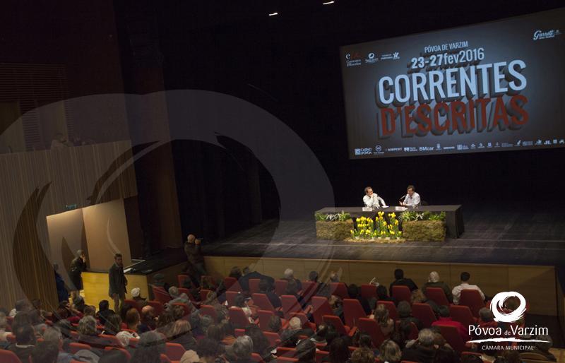 Correntes à Conversa - Javier Cercas e José Manuel Fajardo 12
