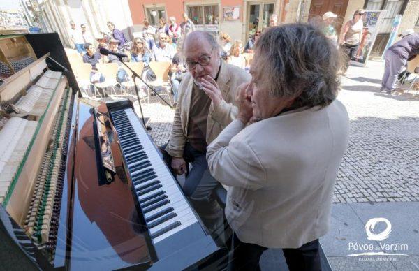 Música e Poesia na rua com Maestro António Victorino D'Almeida e Aurelino Costa