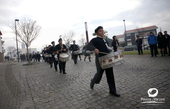 Concentração e desfile