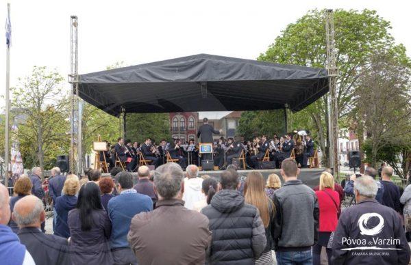 Concerto pela Banda Musical da Póvoa de Varzim