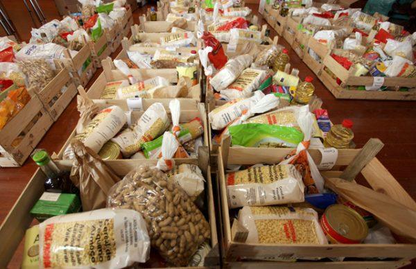 A Beneficente - recolha de bens alimentares