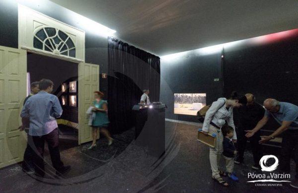 Inauguração da exposição n'A Filantrópica
