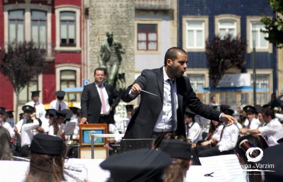 Concerto pela Banda Musical da Póvoa de Varzim e pela Banda da Carregosa