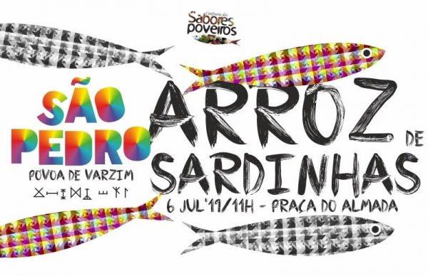 """""""O Maior Arroz de Sardinhas do Mundo"""", este sábado, na Póvoa de Varzim"""