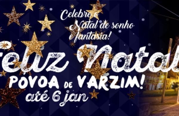 Feliz Natal Póvoa de Varzim 2018