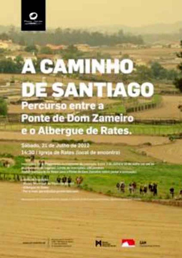 a caminho de santiago_cartaz