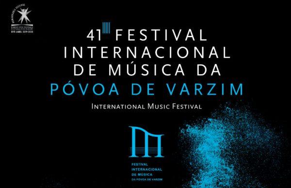 Sasha Rozhdestvensky e Vitoria Postnikova sobem ao palco do Festival Internacional de Música da Póvoa de Varzim
