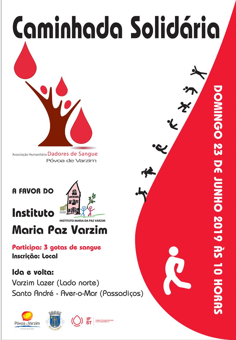 Caminhada Solidária pelo Instituto Maria da Paz Varzim