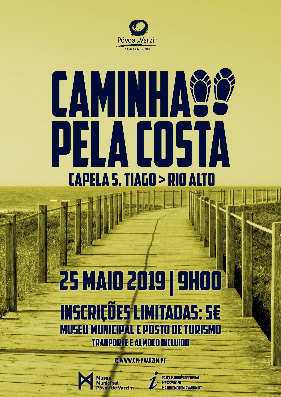 Caminhada Santiago pela Costa