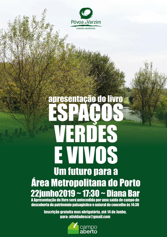 """Apresentação do livro """"Espaços verdes e vivos"""""""